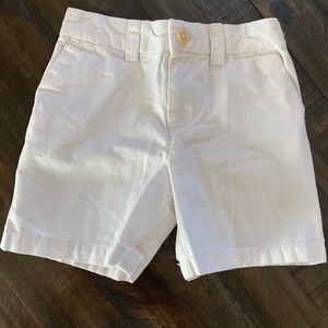 POLO RALPH LAUREN BOYS 18m white shorts!!